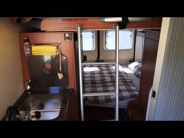 Campingbus Adria Twin 640 SHX - 4 Personen Campingbus