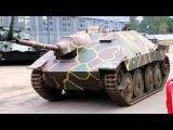 Немецкие танки Pz-III  и СУ-75 «Хетцер» после реконструкции занимают место в экспозиции.