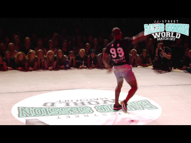 B-Boy Iron Monkey Judge solo | JJ-Street Batlic Session 2015
