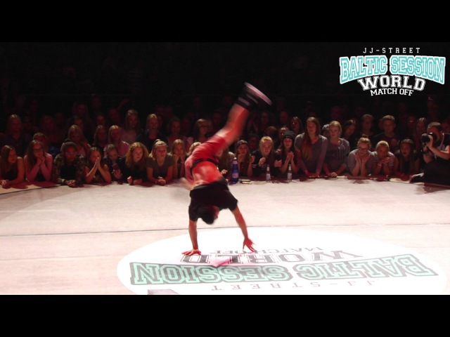 B-Boy Salo Judge solo | JJ-Street Batlic Session 2015