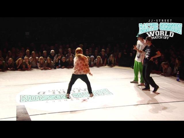 Dam'en L'eto VS Andy Puncha   Hip-Hop Final   JJ-Street Baltic Session 2015