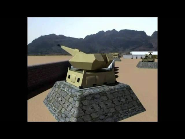 MANTIS NBS C-RAM (Counter-Rocket Artillery Mortar)