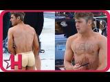 Zac Efron Runs Around Nearly Naked | Hollyscoop News