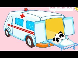 Машинки. Мультики про машинки.Пожарная машина, Скорая помощь, Полицейская. Транспорт для детей.