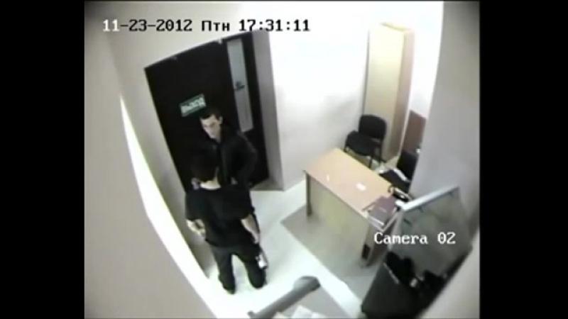Убийство охранника Связь-Банка в Махачкале. [360p]
