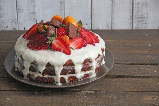 Самые вкусные бисквитные тортики с фото