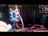 Использование доп канала односторонней сигнализации для отключения усилителя (автомагнитол )