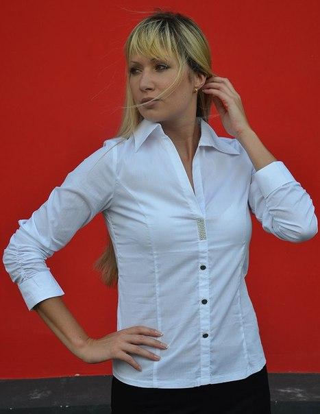 Блузка С Юбкой Завышенной Талией