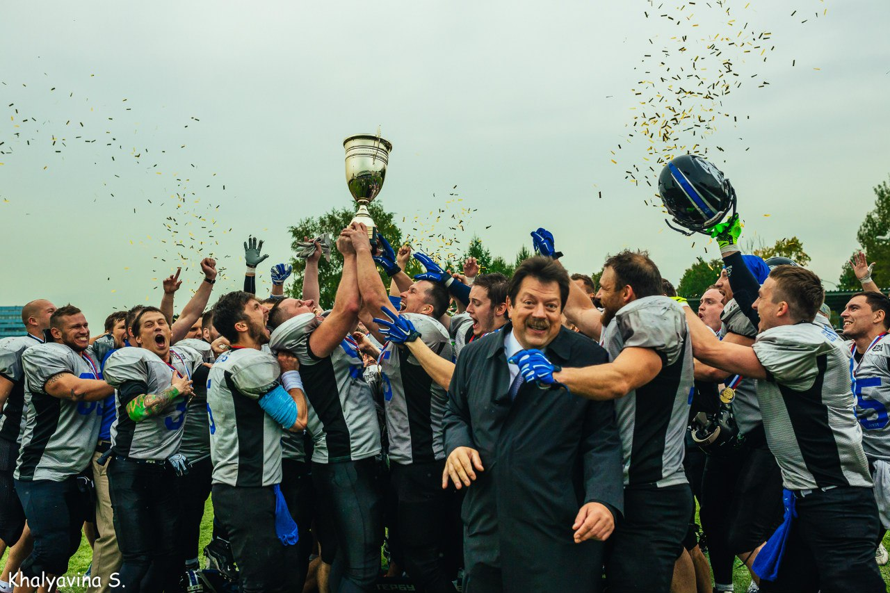 St. Petersburg Griffins, the 2015 Russian Champions