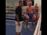 tengooseboxing_gym: If you guy's don't think this Kid can't fight Man you guy's have something coming…