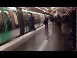 Racist Chelsea Fans Refuse To Let Black Passenger on Paris Metro Train (VIDEO)