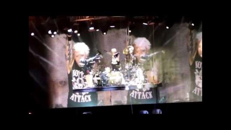 Scorpions – сборка соло партий разных песен (14.05.2015) г.Новосибирск