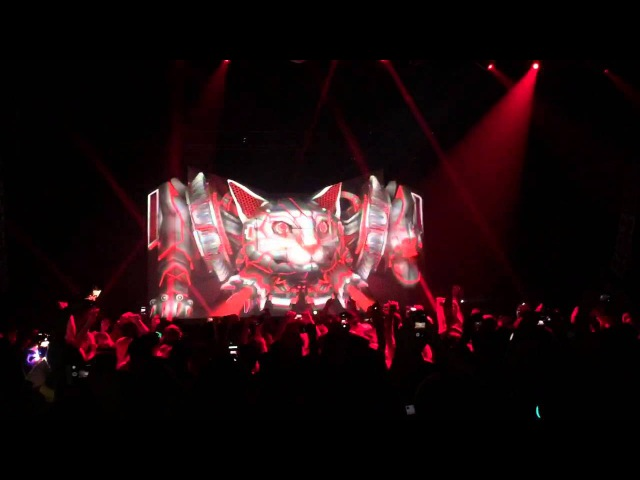 Excision Robo Kitty Live in Dallas 2 14 15