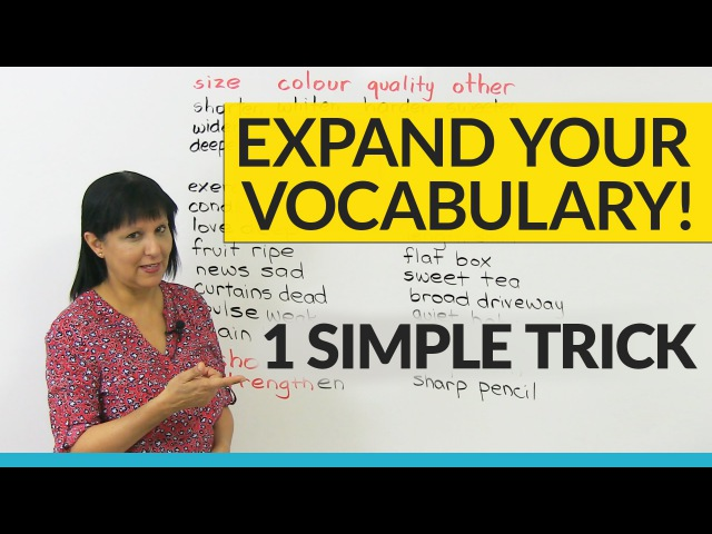 Vocabulary Hack: Learn 30 Verbs in 10 minutes!