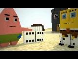Спанч Боб в Minecraft. 3 сезон 4 серия