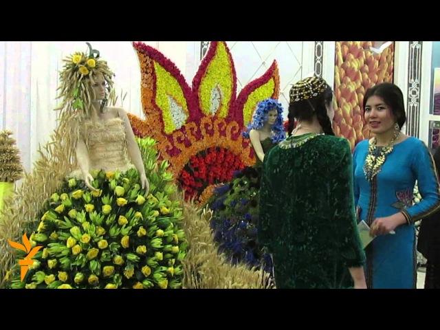 Aşgabat Güller sergisi geçirildi