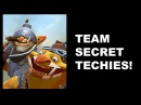 SECRET TECHIES - Its A Trap! - ESL ONE Frankfurt Dota 2