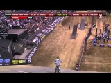 Moto Stunt Biker Run Over By His Own Bike