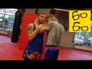 Клинч в тайском боксе Андрея Басынина скрутки и удары коленями в тайском клинче muay thai clinch