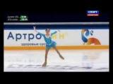 Чемпионат России по фигурному катанию 2015. Женщины. Короткая программа. Евгения Медведева