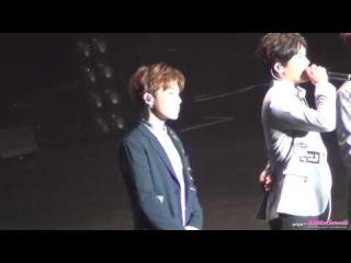 Fancam [150905] Infinite (Sunggyu) Ment popping kyu~ • «Infinite Effect» в Тайбэе