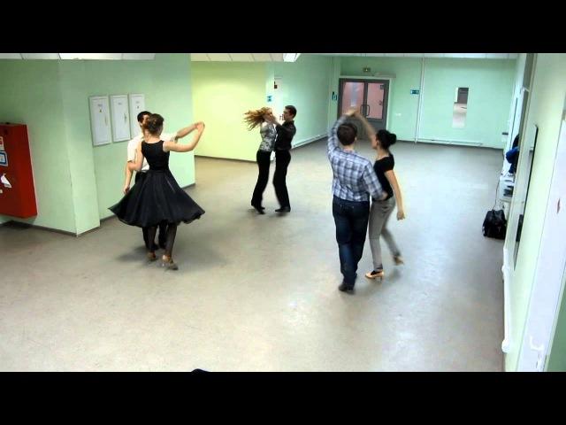 Богемская полька Схема танца