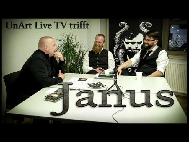 UnArt Live TV - Interview Janus - Christuskirche, Bochum 2015