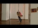 Пол денс + стрип пластика, зв'язка для початківців. Тренер Гранат Наталя)) Shokolad Dance Studio