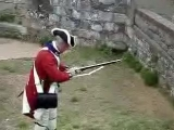 Brown Bess Musket Three shots in 46 seconds