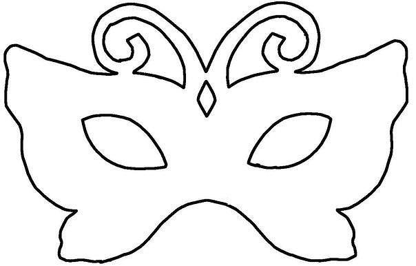 Карнавальная маска из бумаги своими руками шаблон