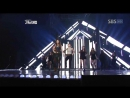 G.NA - Top Girl Black White @ SBS 가요대전 (Gayo Daejun) 2011