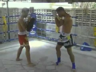 Muay Thai Techniques and Training   Part 5 Elbow Instruction 1/2