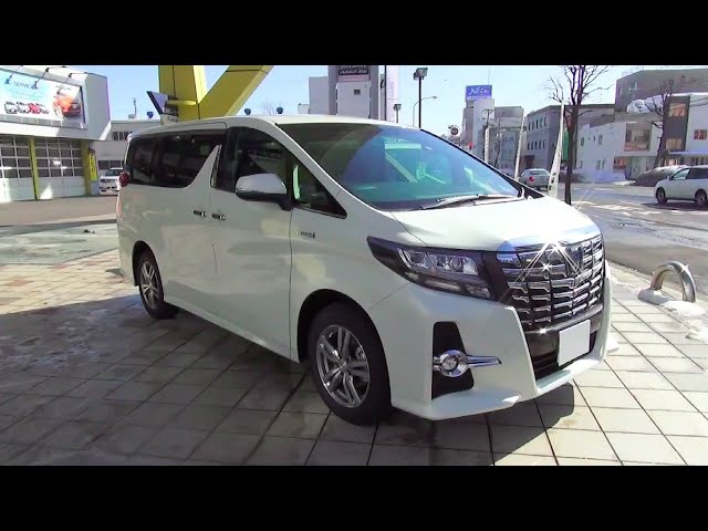 2015 TOYOTA ALPHARD HYBRID SR C Package 4WD - Exterior Interior
