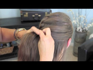 French Twist into Rope Braid | Back-to-School | Cute Girls Hairstyles