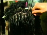 Плетение афрокосичек (короткие волосы)