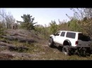 Excursion on Boggers Climbing rock hill