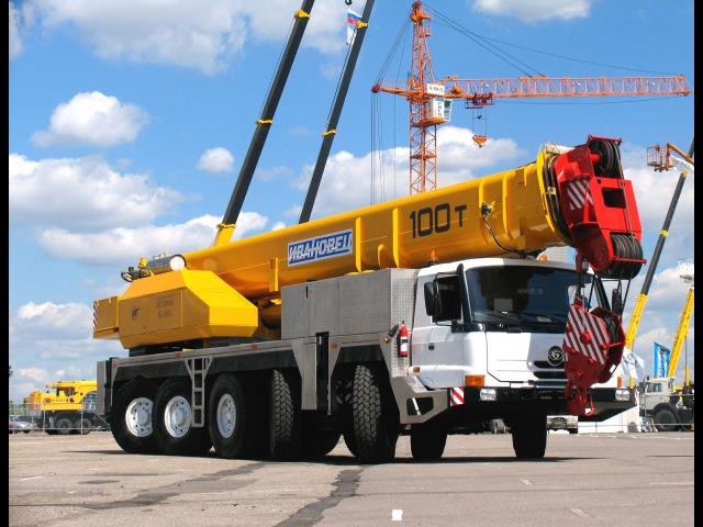 Супер автокран 100 тонн Наш ответ импорту
