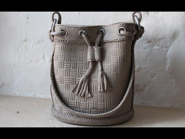 Keramik Beutel Tasche
