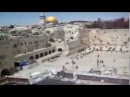 Israel. Wailing wall. View from the roof.