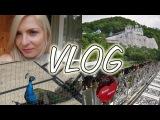 Майский Vlog: Наше путешествие. Святые Горы. Мост влюбленных. Домик в лесу. Собираем грибы.
