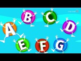 ABC Songs for Children - ABCD Song in Alphabet Water Park - Phonics Songs &amp Nursery Rhymes