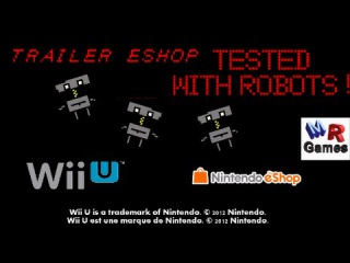 Tested with Robots ! - Trailer Wii U eShop