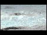 Сход ледника в Гренландии
