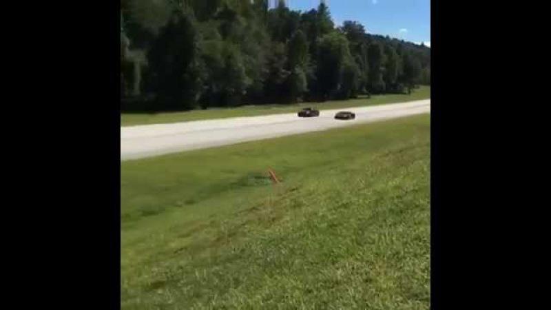BMW F10 M5 - MSR Stage 3 vs Lamborghini Aventador : 1/2 Mile Race
