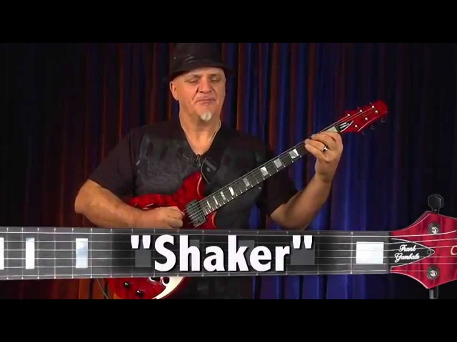 Frank Gambale and his Carvin FG1 playing 6.8 Shaker