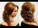 Prom wedding hairstyle for long hair tutorial