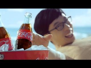 Ю Дже Сок и Чон Чжун Ха для Coca-Cola