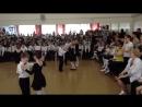 Соревнования в школе среди 1 классов по ритмике