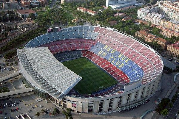 """Стадион """"Камп Ноу"""" (Camp Nou), Барселона"""