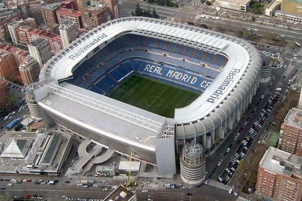 """Стадион """"Сантьяго Бернабеу"""" (Estadio Santiago Bernabeu), Мадрид"""